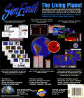 SimEarth: The Living Planet Macintosh Back Cover