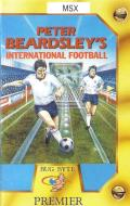 Peter Beardsley's International Football MSX Front Cover