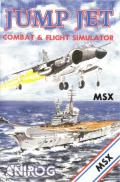 Harrier Mission MSX Front Cover