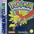 Pokémon Gold Version Game Boy Color Front Cover