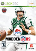 Madden NFL 09 Xbox 360 Front Cover