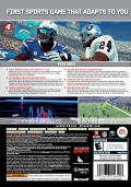 Madden NFL 09 Xbox 360 Back Cover