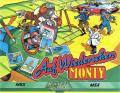 Auf Wiedersehen Monty MSX Front Cover rotated 90 degrees