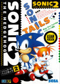 Sonic the Hedgehog 2 Genesis Front Cover