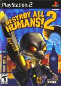 Destroy All Humans! 2 PlayStation 2 Front Cover