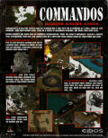 Commandos: Behind Enemy Lines Windows Back Cover