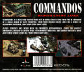 Commandos: Behind Enemy Lines Windows Other Jewel Case - Back Cover