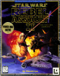 Star Wars: Rebel Assault II - The Hidden Empire Macintosh Front Cover