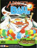 Addicta Ball MSX Front Cover