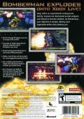 Bomberman: Act: Zero Xbox 360 Back Cover