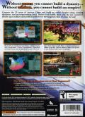 Dynasty Warriors 5: Empires Xbox 360 Back Cover