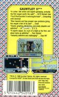 Gauntlet II ZX Spectrum Back Cover