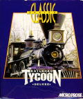 Sid Meier's Railroad Tycoon Deluxe DOS Front Cover