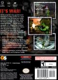 Army Men: Sarge's War GameCube Back Cover