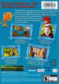 Dr. Seuss' The Cat in the Hat Xbox Back Cover