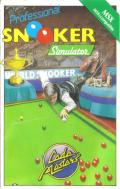 Professional Snooker Simulator MSX Front Cover