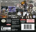 The World Ends with You Nintendo DS Back Cover