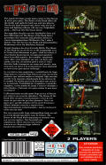 The House of the Dead SEGA Saturn Back Cover