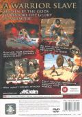 Gladiator: Sword of Vengeance PlayStation 2 Back Cover