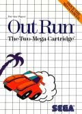 OutRun SEGA Master System Front Cover