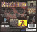 King's Field PlayStation Back Cover