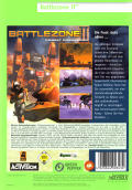 Battlezone II: Combat Commander Windows Back Cover