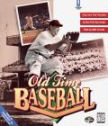 Old Time Baseball DOS Front Cover