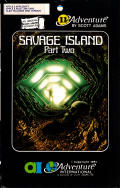 Savage Island Part Two Apple II Front Cover