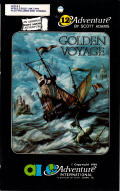 The Golden Voyage Apple II Front Cover