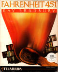 Fahrenheit 451 Apple II Front Cover