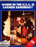 Where in the U.S.A. is Carmen Sandiego? Apple II Front Cover
