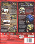 Sid Meier's Civilization IV Add-On-Doppelpack Windows Back Cover