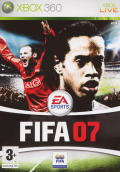 FIFA Soccer 07 Xbox 360 Front Cover