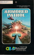 Armored Patrol TRS-80 Front Cover