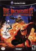 The Incredibles: Rise of the Underminer GameCube Front Cover
