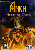 Ankh: Heart of Osiris Macintosh Front Cover