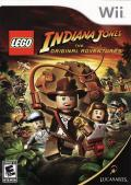 LEGO Indiana Jones: The Original Adventures Wii Front Cover