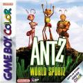 Antz World Sportz Game Boy Color Front Cover
