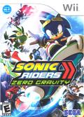 Sonic Riders: Zero Gravity Wii Front Cover