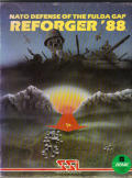 Reforger '88 Atari 8-bit Front Cover