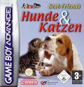 Paws & Claws: Best Friends - Dogs & Cats Game Boy Advance Front Cover