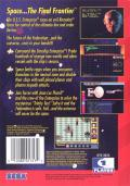 Star Trek: The Next Generation - Echoes from the Past Genesis Back Cover
