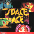 Space Ace CD-i Front Cover