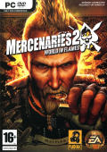 Mercenaries 2: World in Flames Windows Front Cover
