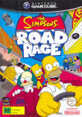 The Simpsons: Road Rage GameCube Front Cover
