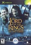 The Lord of the Rings: The Two Towers Xbox Front Cover