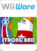 Strong Bad's Cool Game for Attractive People: Episode 2 - Strong Badia the Free Wii Front Cover