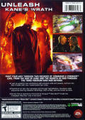 Command & Conquer 3: Kane's Wrath Windows Back Cover
