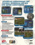 FA Premier League Football Manager 2000 Windows Back Cover