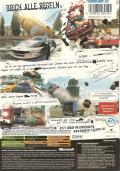 Burnout 3: Takedown Xbox Back Cover
